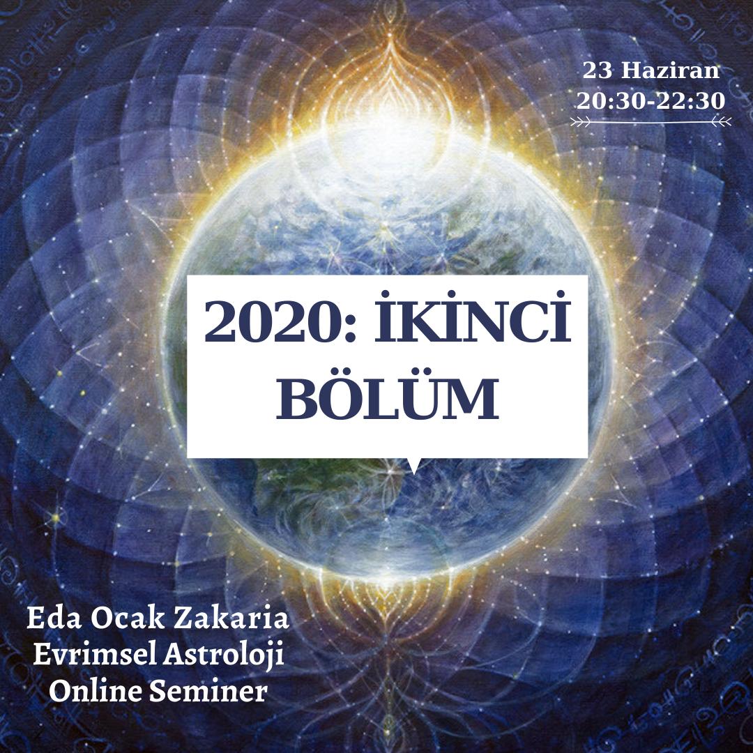 Tutulmalar, Retrolar ve Gezegen Hizalanmaları Hakkında Seminer , 2020