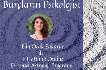 4 Haftalık Online Evrimsel Astroloji Programı